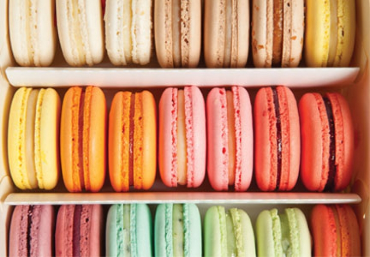 Baking Goes Bold Macaroons